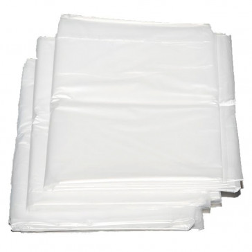 50 Stück Containersäcke, 82 x 65 x 160 cm, 29 my, 360 l, transparent, LDPE