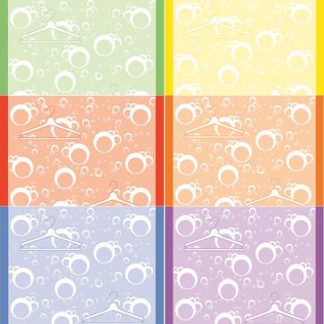 Design-Thermorollen, bedruckt, 80 / 80 m /12, in sechs verschiedenen Farben