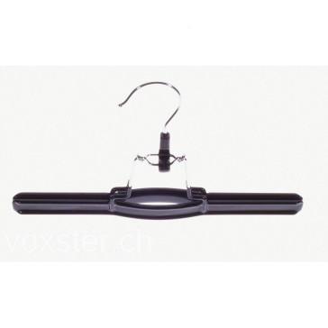 Hosenklemmbügel metall, schwarz 26 cm breit