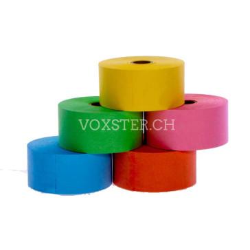 Hydrofix-Kassenrolle 38 x 80 x 17.5 mm in 5 Farben