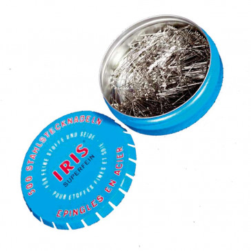 Stecknadel IRIS, 3.0 cm in kleiner Dose