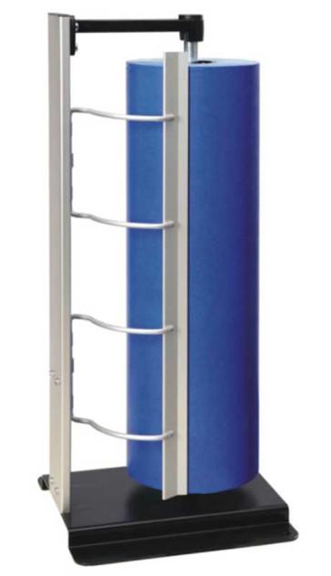 Senkrecht-Abroller, für Rollenbreite 30 cm bis 100 cm, Messer gezahnt oder glatt