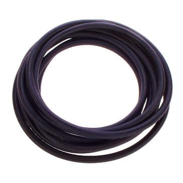 Silikon-Dampfschlauch 6 x 3 mm, schwarz