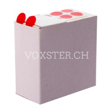 Markierungs-Klebepunkte, Spezialpapier in rot oder weiss