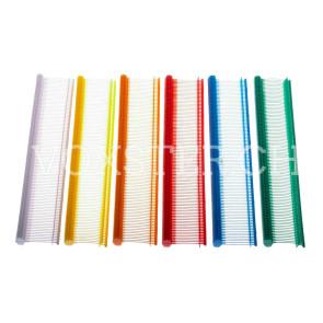 Dennison® Heftfäden, Nylon, in 6 verschiedenen Farben, 14 mm