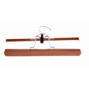 Hosenklemmbügel Holz, 28 x 2,80 cm breit