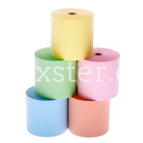 Hydrofix-Kassenrolle 76 x 80 x 12 mm in 5 Farben