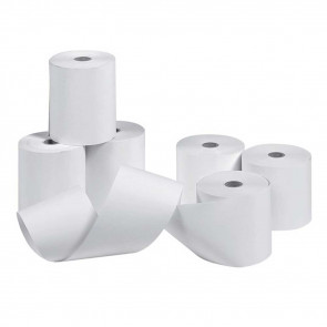 Kassenrollen Normalpapier, Normalpapier holzfrei, unbedruckt