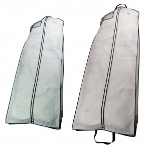 Aufbewahrungshülle für Kleider, mit Reissverschluss