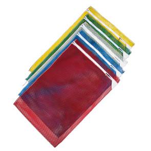Wäschenetz 40 x 60 cm mit Reissverschluss und Abdeckung in fünf Farben