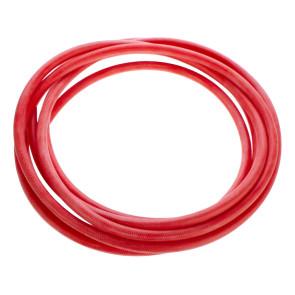 Silikon-Dampfschlauch 6 x 3 mm, rot