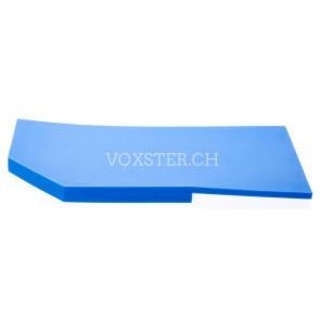 Bügeleisen-Unterlage mit Rand 13.8 x 28.5 cm
